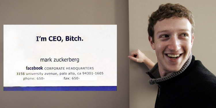 12 amazing business cards of world famous personalities - Amazing Business Cards